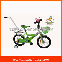 "12""/14""/16""size new design boy and girl kids dirt bike/steel frame kids bicycle with push bar"