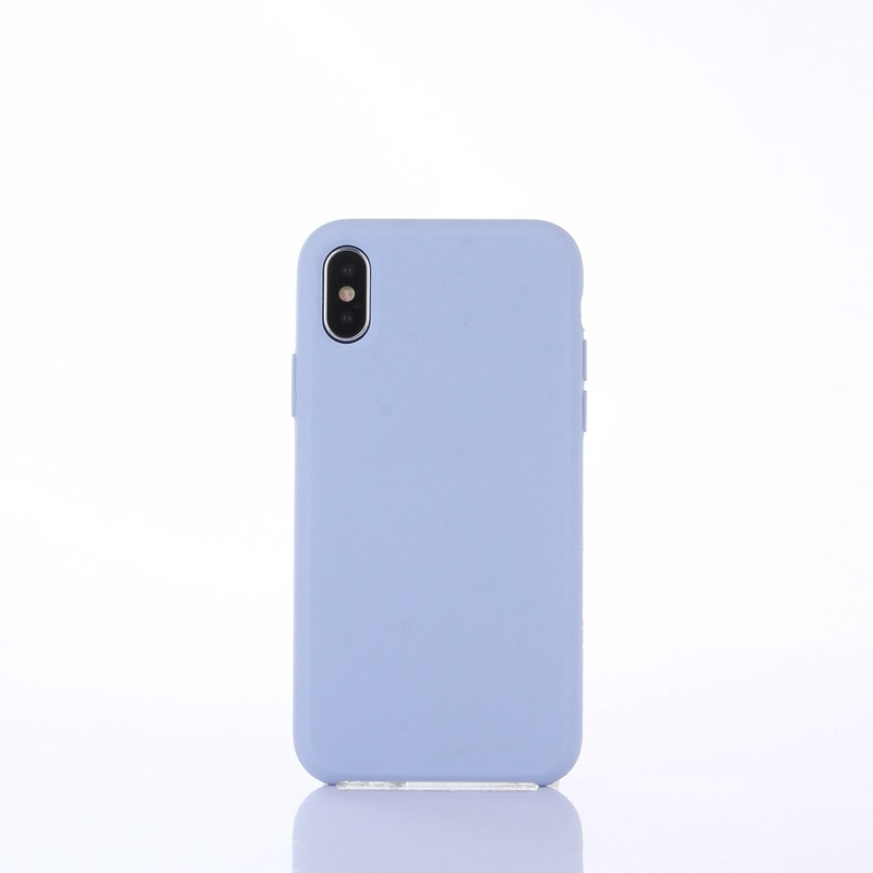 MaxShine Original Shockproof Soft <strong>Microfiber</strong> rubber liquid silicone case for Iphone X 7 8 Plus XS MAX with logo