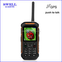 2016 Newest!!2.4inch walkie talkie waterproof smart phone dual sim card, basic mobile phone features, best durable cell phone X6