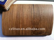 wood color pvc decorative film for furniture panel