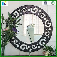 New design round mirror wall decor for home and hotel