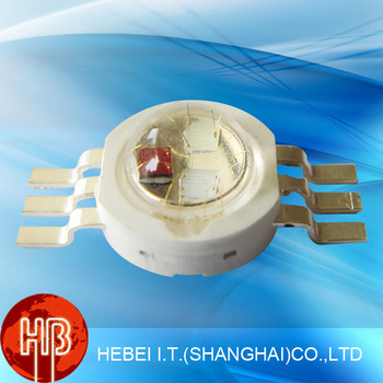3W High Power RGB Led Diode DIP Chip