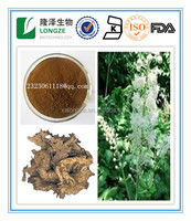 Free sample Triterpene Glycosides 2.5%,5%,8% Black Cohosh P.E. Black Cohosh Extract Powder