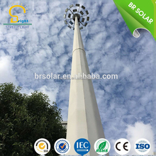 15M 18M 30M eletric appliance control device high mast lighting with telescopic mast