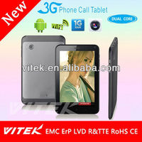 Internal 3G WiFi FM 7 inch Tab PC with SIM Card Slot