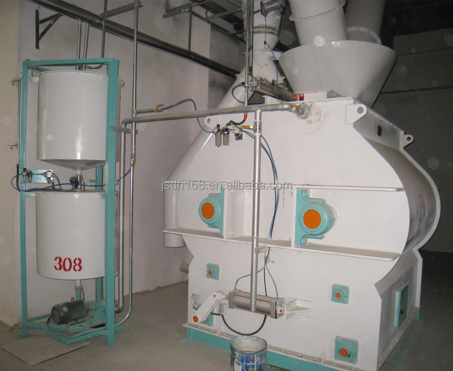 HME Farm Uses Reliable High Capacity animal feed processing equipment in China
