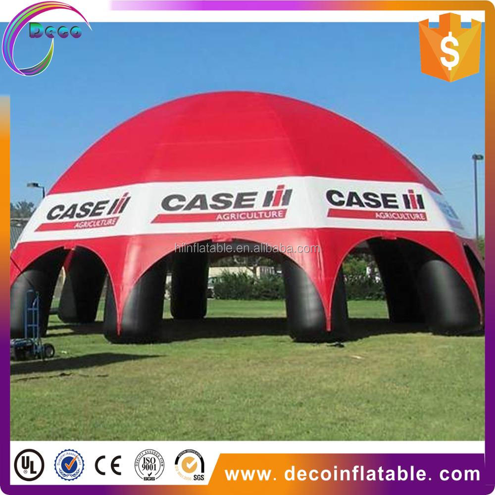 Inflatable stage tent/inflatable spider dome/inflatable tent for car shelter show