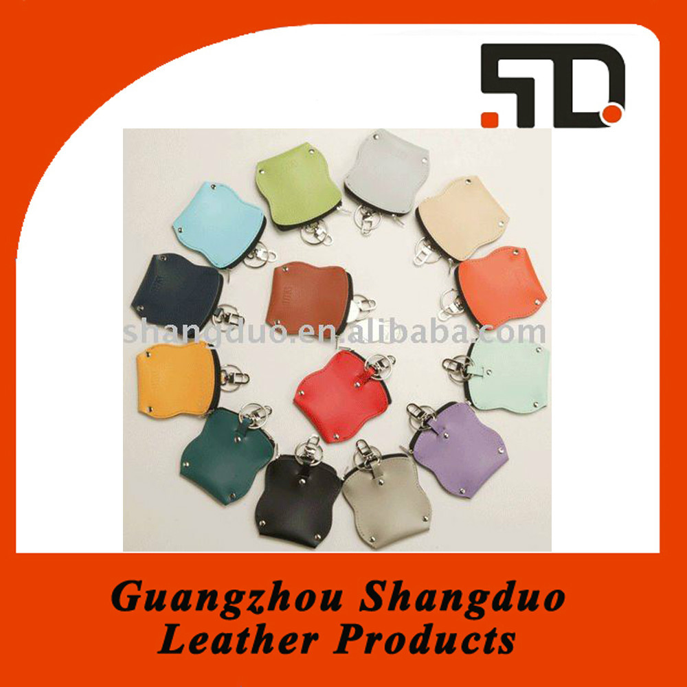 China Manufacture Price Selling Well Leather Colourful Coin Purse