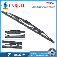 Vehicle parts screw type traditional standard frame wiper blade for import cars from japan screw hook