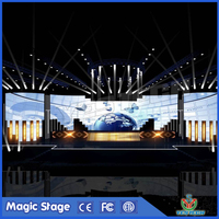 stable rental P3 indoor wall led display