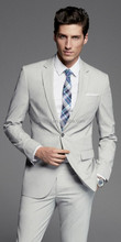 New Style off-white color Wedding Dress Suits For Men 2014