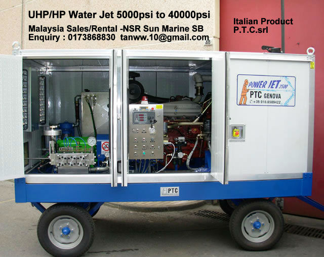 Image Water Jet for Sales, services rental Supplier Malaysia