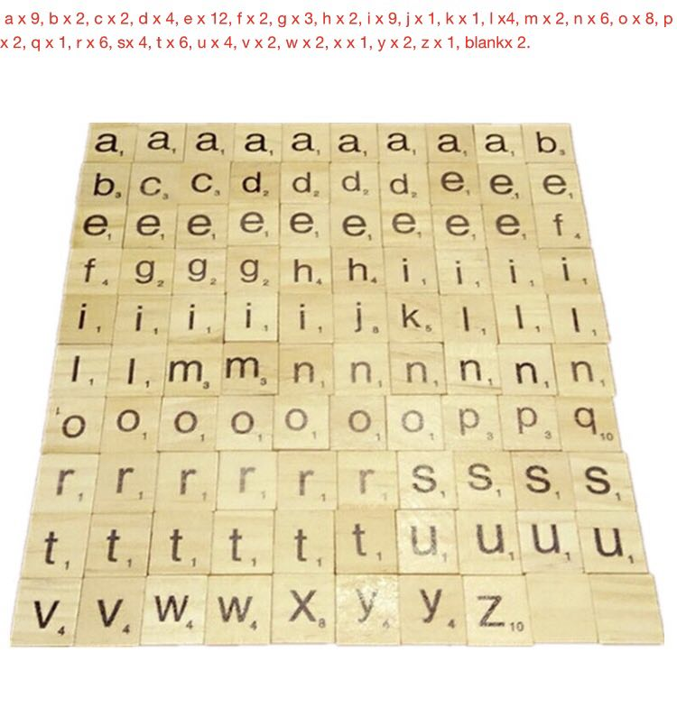 2019 Colorful Wooden Alphabet Scrabble Tiles,Custom LETTERS&NUMBERS,Pre-school Kids Education,Early Childhood Puzzle Board Game