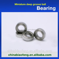 Sizes ZZ Sealed Deep Groove Ball Bearing Used Motorcycles Bearings