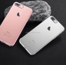 Tpu case for iPhone 8 X Gel Case Slim Crystal Clear TPU Silicone Protective coque for iPhone 7 5 SE 6 6s plus cover case