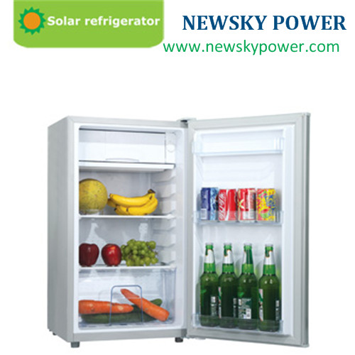 Solar Power Source Stainless Steel Material 12v dc solar fridge