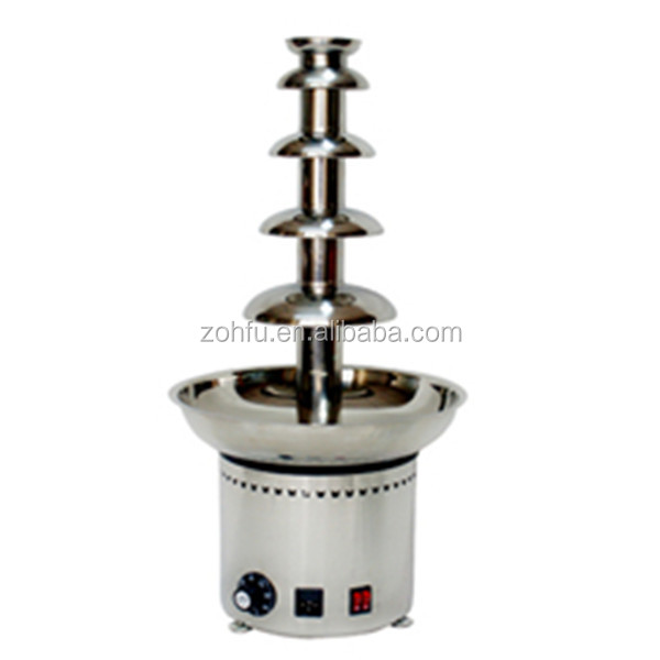 chocolate fountain sale /led chocolate fountain base