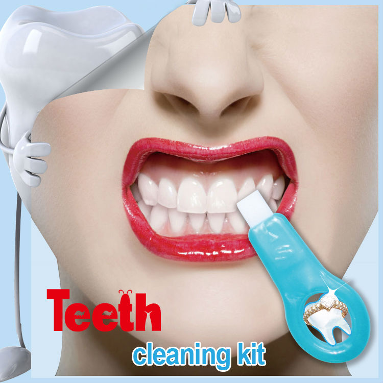 Hot Fashion Popular White Teeth Whitening Kits Tooth Whiten Remove Teeth Tartar Stains oral hygiene