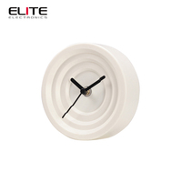 2015 china 5 inch ce certificate modern office promotional table clock