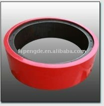 China Product Polyurthane Muller wheel with cast Iron center