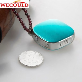 WECOULD Mini GPS Tracker A9 For Kids Elderly With 2 Way Voice Monitor