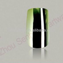 Green apple color fake nails girls love fine art picture
