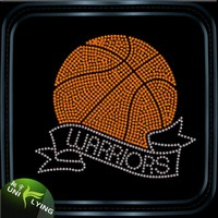 Basketball warriors iron on transfer paper