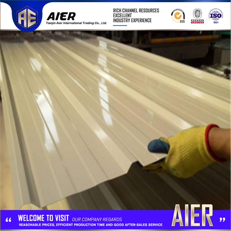 zinc aluminium alloy coated corrugated sheet with CE certificate