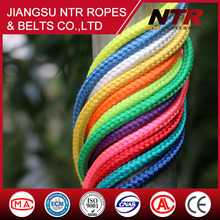 modern design 1000kg amusement equipment polyester rope 16mm nylon rope