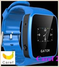 Wrist Materials Food-grade, Silicone MTK MT6261D GSM Chipset, smart gps wrist watch for kids
