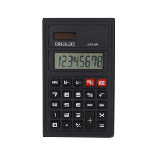 8 Digit Solar Power Electronic Calculator for Promotional Gift