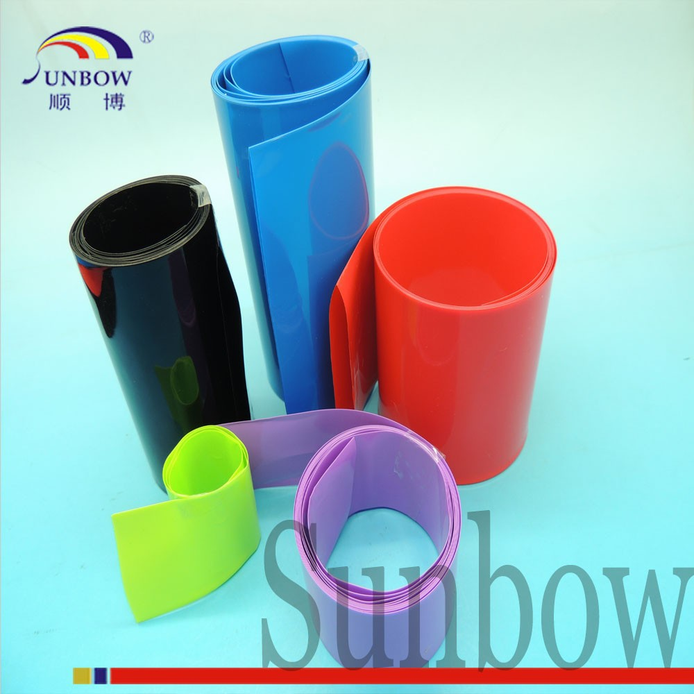 SUNBOW Customized PVC Heat Shrinkable Sleeves Used in Electrolytic Capacitors