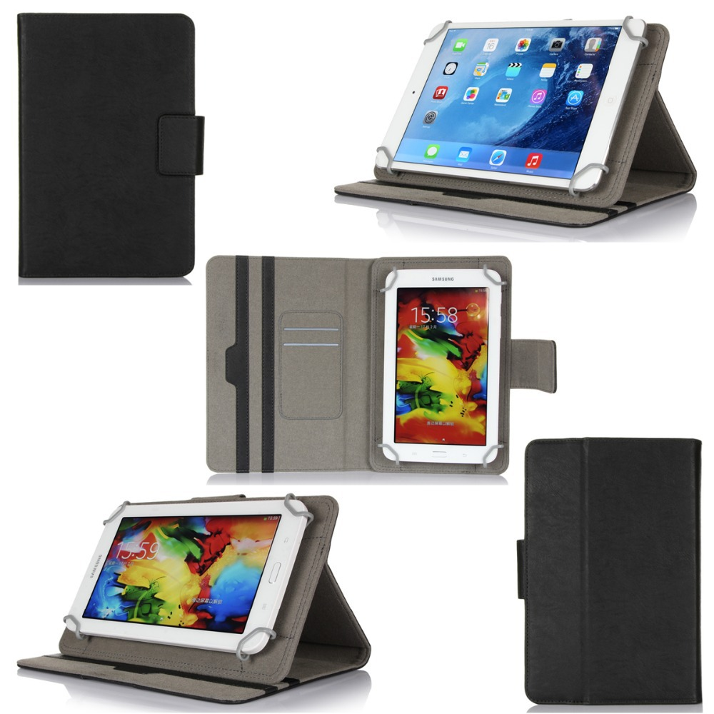 Shockproof Universal Leather Cover Custom Flip Universal Tablet Case For 7-8 inch