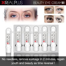 REAL PLUS Factory Direct Sale Natural Ingredients Instant Action Reduce Fine Lines Eye Fat Eye Zone Cream