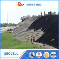 Soil Stability Geocell Of Earthwork Products