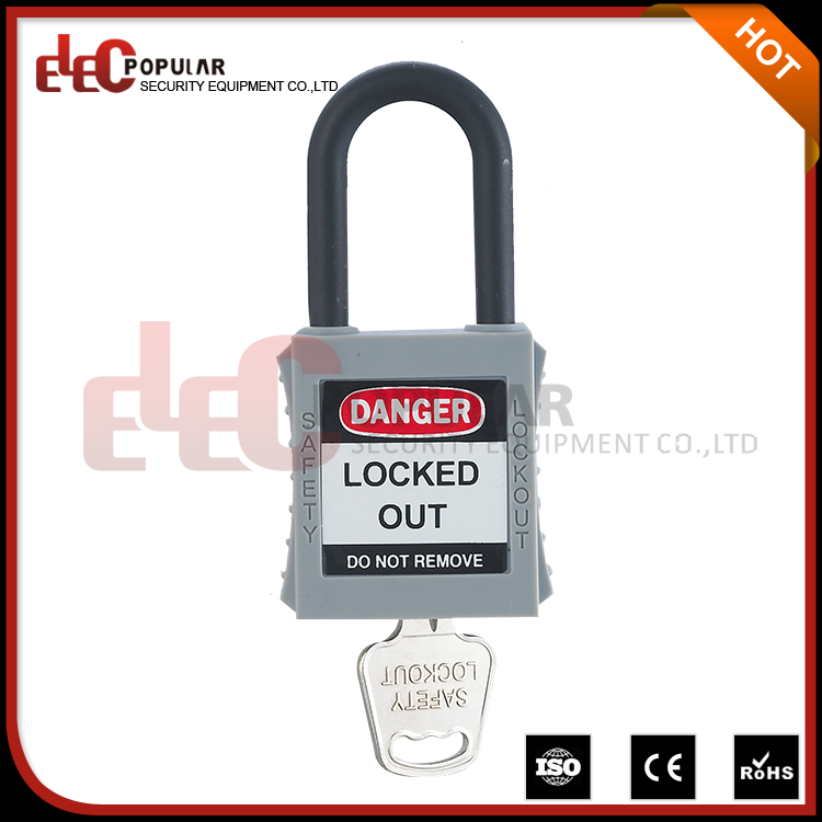 Elecpopular New Products 2016 Cheap Lock Out Tag Out Locks With Nylon Shackle