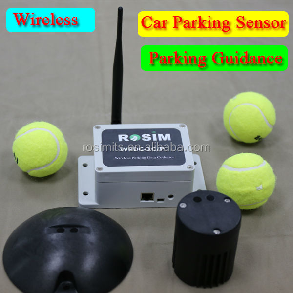 Wireless Magnetic Sensors Car Detection Car Presence Detection for Car Parking Guidance