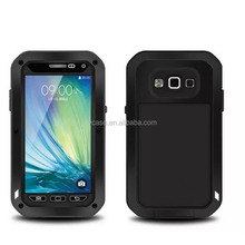 Dual Layer hybrid rugged bumper case back cover for samsung galaxy mega 6.3
