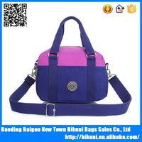 Shoulder bag nylon exotic handbag can be washing