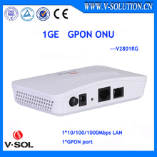 Hot sell low cost 1GE port fiber optic bridging FTTH GPON ONU