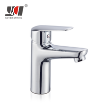 online store china bathroom waterfall brass wash basin fittings