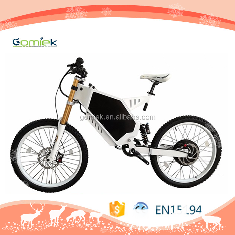 Reliable powerful battery beach cruiser 3000w 48v powered electric bike/bicycle