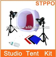 Studio Photo Tent Light Backdrop Kit Photography Cube Kit