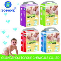 2017 China Super Professional Baby Diapers Manufacturer and Quite Popular for All World Topone Baby Diapers in Bales