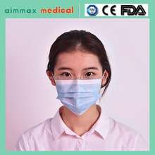 Daily Health Protect Ear Loop Disposable 3 Ply PP Nonwoven Medical Face Mask