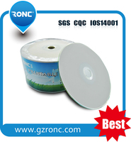 Blank White Shrink Pack cds Printable with Good Price for cd dvd Copy