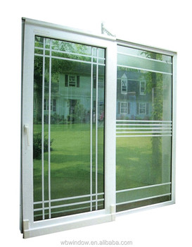 Nice design pvc upvc horizontal opening sliding patio for Nice sliding glass doors