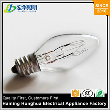 110V 10W C7 Incandescent Bulb Christmas Candle Light Bulbs