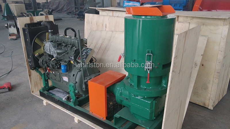whirlston factory supplying rice husk animal feed pellet machine