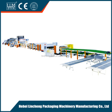 2017 NEW LATEST good price LUM 1600 7 ply corrugated production line assembling machines